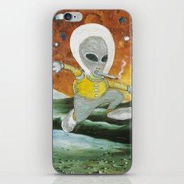 Spaced Race iPhone Skin