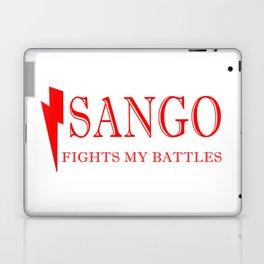 Sango Fights My Battles Laptop & iPad Skin