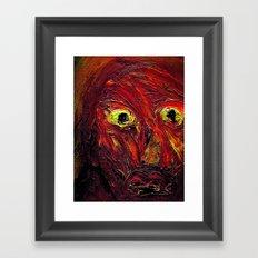 Braggart. Framed Art Print