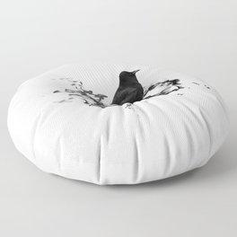 Dark Crow Floor Pillow