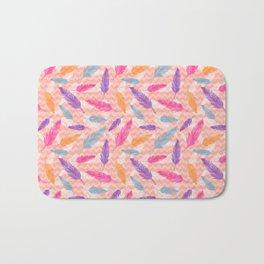 Feathers pattern Bath Mat