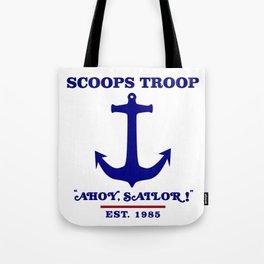 Scoops Troop Tote Bag