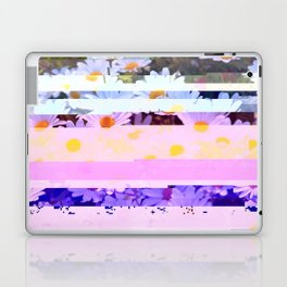 Daisy - Glitch Art Laptop & iPad Skin