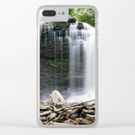 The Falls of Hills Creek Clear iPhone Case