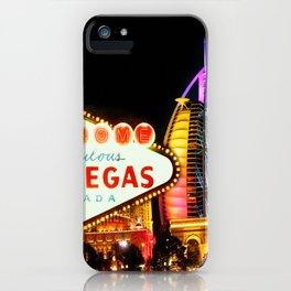 Living Las Vegas 2 iPhone Case