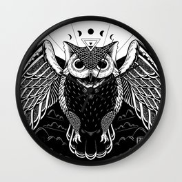 The Spirit of Night Wall Clock
