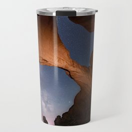 Double Arch in Arches National Park 2 Travel Mug