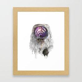 dj astronout Framed Art Print