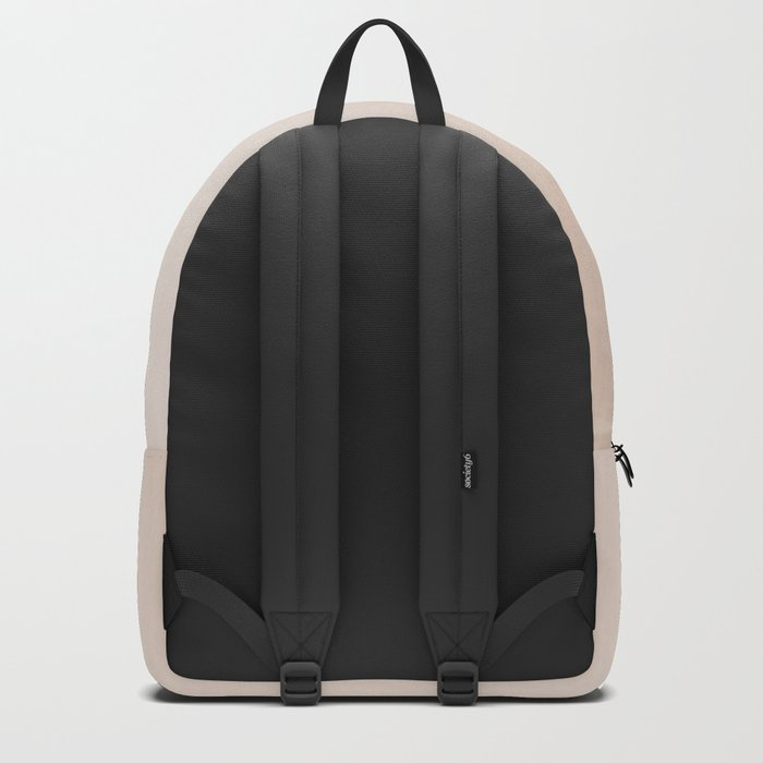 Two feathers on a soft pastel background - beautiful couple Backpack
