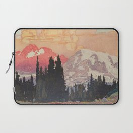 Storms over Keiisino Laptop Sleeve
