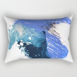 Light Blue Rectangular Pillow