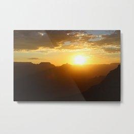 Canyon Dawn Metal Print