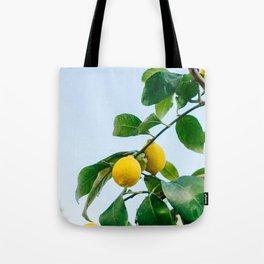Amalfi Coast Lemons III Tote Bag