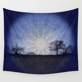 Celestial Clockwork Wall Tapestry