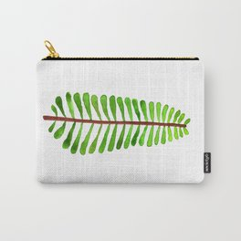 Woodland Fern Watercolor Carry-All Pouch