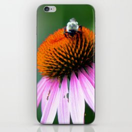 Bumble Bee in the Garden iPhone Skin