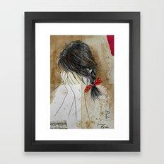 DEEP Framed Art Print