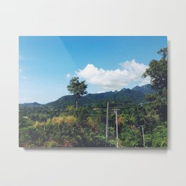Thinkin of U Metal Print