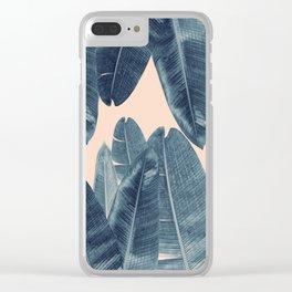 Banana Leaves - Cali Vibes #4 #tropical #decor #art #society6 Clear iPhone Case