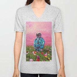 The Flower Field Unisex V-Neck