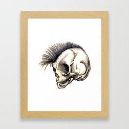 Punk Isn't Dead Framed Art Print