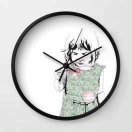 BubbleGirl Wall Clock