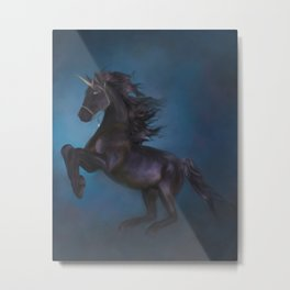 The power of the Unicorn Metal Print