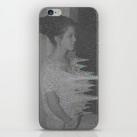 glitch iPhone & iPod Skins featuring Glitch by Amélie Haeck