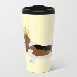 Royal Basset Hound Dog  Travel Mug