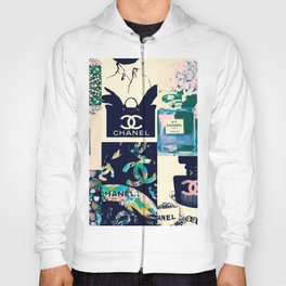 CC No.5 Fashion Collage Hoody