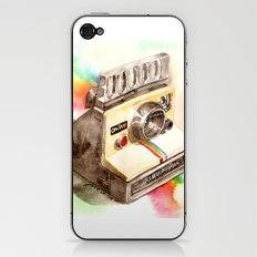 Vintage gadget series: Polaroid SX-70 OneStep camera iPhone & iPod Skin