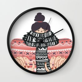Its cold outside Wall Clock