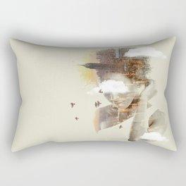 New York City dreaming Rectangular Pillow