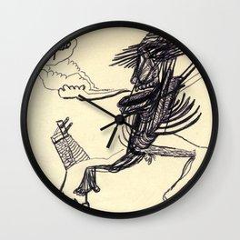 mi gozo en un pozo ... Wall Clock