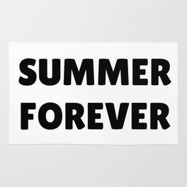 Summer Forever in Black Rug