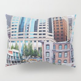 colorful seattle Pillow Sham