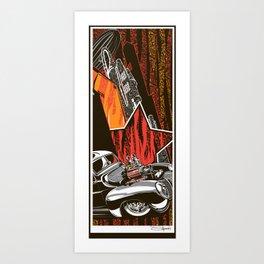 No. 40 High Contrast Art Print