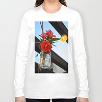 outdoor Long Sleeve T-shirts featuring Outdoor Decor by Kim Ramage