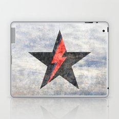 BlackStarMan (waiting in the sky) Laptop & iPad Skin