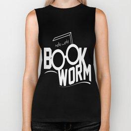 Book Worm Biker Tank