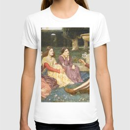 John William Waterhouse - A Tale from the Decameron T-shirt