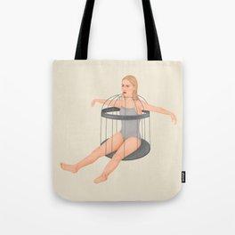 No, woman Tote Bag