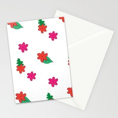little pink flowers Stationery Cards