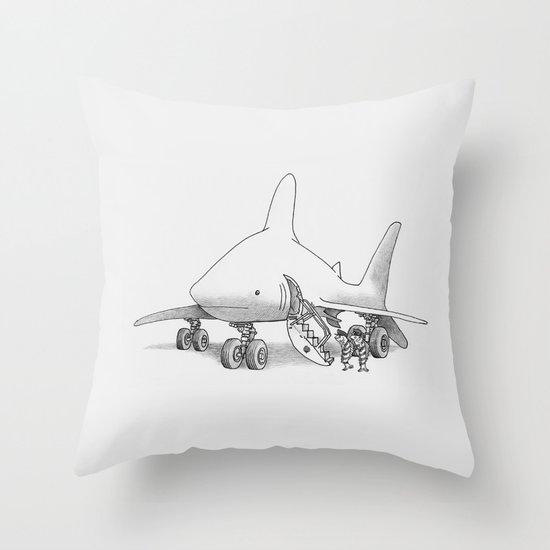 Pilot Fish Throw Pillow