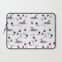 Loons and Ladyslippers Laptop Sleeve