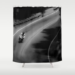 COMING THROUGH Shower Curtain