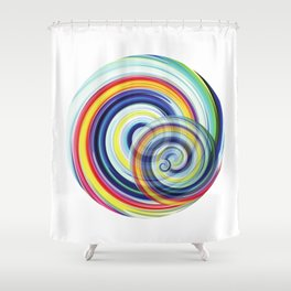 Swirl No. 1 Shower Curtain