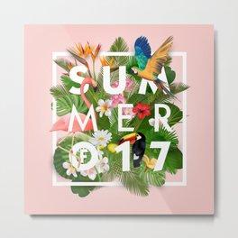 SUMMER of 17 Metal Print