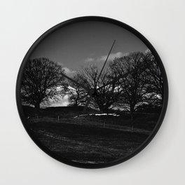 Mørket Kommer (Darkness Comes)  Wall Clock