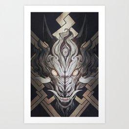 The Wolf 02 Art Print